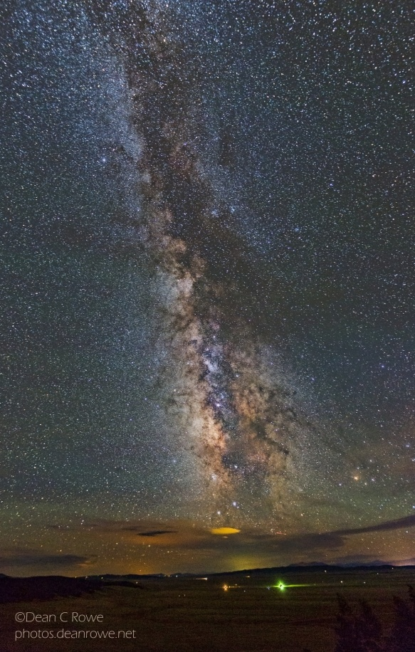 Milky Way Over South Park, Colorado View From Kenosha Pass