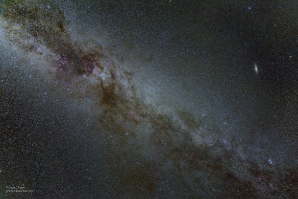 Deep Milky Way from Cassiopeia to Cygnus